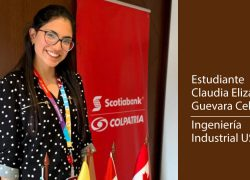 Estudiante de Ingeniería Industrial USAT realizó prácticas profesionales en Scotiabank Colpatria (Colombia)