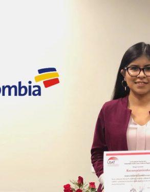 Estudiante de la Facultad de Derecho es admitida como practicante preprofesional en Bancolombia