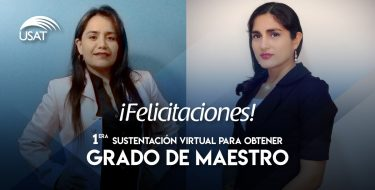 Estudiantes de posgrado obtienen grado de maestro bajo la modalidad virtual