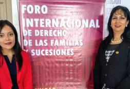 Delegación de la Facultad de Derecho USAT participa en el I Foro Internacional de Derecho de las Familias y Sucesiones