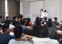 Docentes de la Escuela de Ingeniería Mecánica Eléctrica USAT realizan campaña de concientización por el Día del Agua