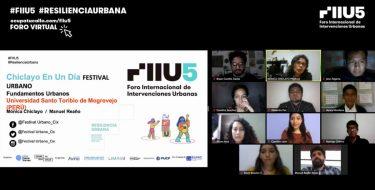 'Festival Urbano Chiclayo en un día' formó parte del Foro Internacional de Intervenciones Urbanas  FIIU 5
