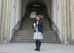 Profesora USAT dicta charlas en universidades alemanas