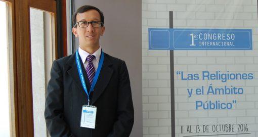 Profesor USAT participó como expositor de Congreso Internacional en Chile