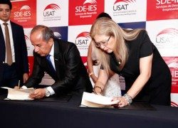 USAT presenta sus servicios al empresariado regional
