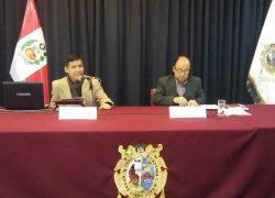 Profesor USAT imparte conferencia  en la Universidad Nacional Mayor de San Marcos