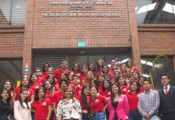Estudiantes de la Escuela de Administración Hotelera y de Servicios Turísticos realizan pasantía en la Universidad de Cuenca – Ecuador