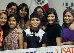 Becarios inician su proyecto de vida en la USAT