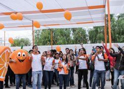 Ciencias Empresariales USAT celebra Semana Naranja