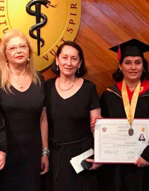 Docentes USAT se gradúan como primeras doctoras en psicología de la Universidad Peruana Cayetano Heredia