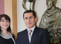 Profesora USAT becaria del Banco Santander y la Universidad de Zaragoza