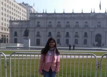 Estudiante USAT inicia estancia académica en Chile