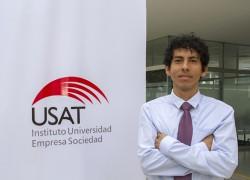 Estudiante USAT gana concurso NESsT Innova Universitario