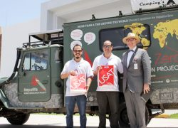 USAT recibe a embajadores de Hepatitis Zero