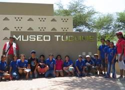 Estudiantes de Vacaciones Divertidas visitan Complejo Arqueológico