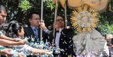 Corpus Christi: USAT celebra al Amor de los amores