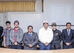 USAT presenta aplicación para mejorar la seguridad en Lambayeque