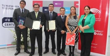 USAT e Instituto de Formación Bancaria firman alianza