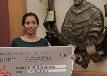 Egresada de Arquitectura USAT obtiene premio Ecuador