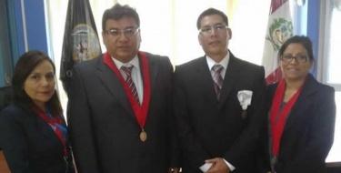 Egresado de derecho USAT es nombrado Juez