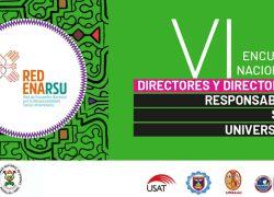 La USAT organiza VI Encuentro Nacional de Responsabilidad Social Universitaria