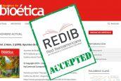"""La revista digital """"Apuntes de Bioética"""" logra una nueva indexación"""