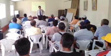 Profesor USAT facilitó talleres para trabajadores