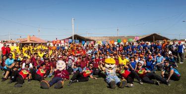 Trabajadores USAT celebran Día del Trabajo