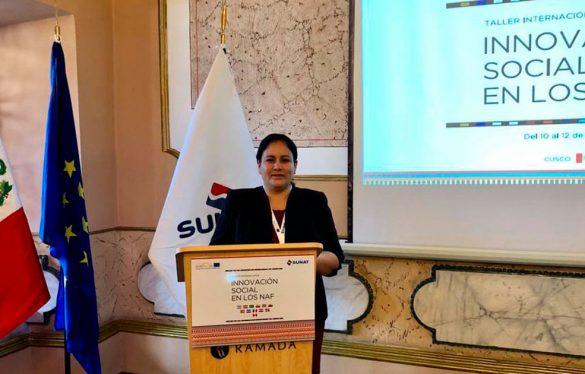 USAT presente en el Taller Internacional – Innovación Social en los Núcleos de Apoyo Contable y Fiscal – NAF