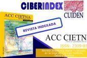 """La revista digital """"Acc Cietna: Para el cuidado de la salud"""" logra indexación a la base de datos Cuiden® de la Fundación Index"""