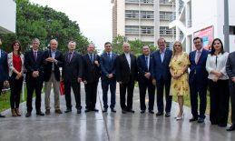 USAT recibe a la delegación de ODUCAL