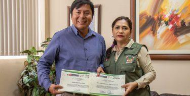USAT recibe reconocimiento del SHBP- SERNANP – Ministerio del Ambiente por organización del PÓMAC FEST 2019