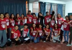 """Estudiantes USAT participan de la Campaña """"Misión provida: Dejando Huella"""""""