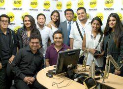 Estudiantes USAT visitan medios de comunicación en Trujillo