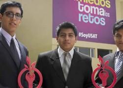 Estudiantes USAT obtienen el Premio Odebrecht para el Desarrollo Sostenible