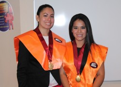 Primeras licenciadas en Administración Hotelera y de Servicios Turísticos USAT