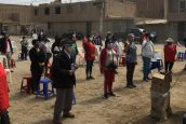 Programa CISUSAT aporta a la conformación de seis comités anticovid para el distrito de Chiclayo