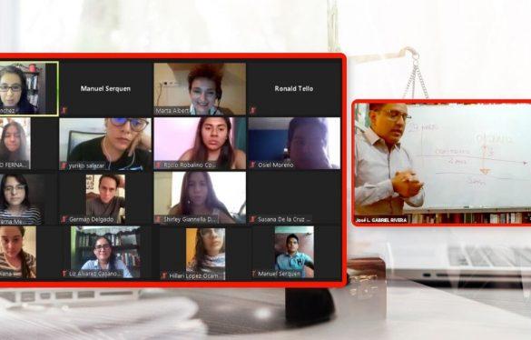 Programa Docente Visitante: Estudiantes de Derecho USAT comparten conocimientos y experiencias con ponentes nacionales e internacionales