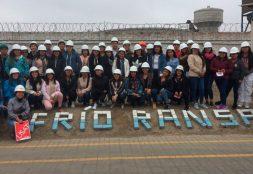 Estudiantes de Administración de empresas visitan las instalaciones de la Empresa Ransa S.A.