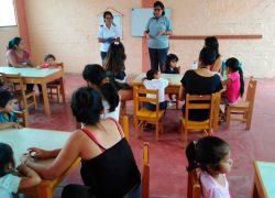 RSU – USAT llevan a cabo Talleres de Educación para niños de comunidades aledañas