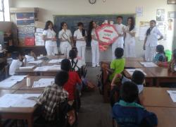 Proyección Social de la Escuela de Odontología
