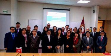 Docentes de la Facultad de Derecho desarrollan el Plan de Trabajo 2019 – II
