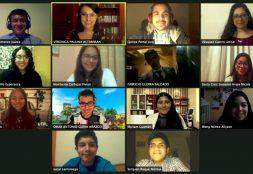 Siete estudiantes y un profesor de la Escuela de Comunicación USAT participan en Taller internacional de Diplomacia Ciudadana