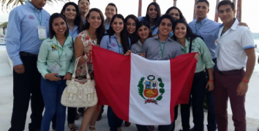 Estudiante USAT participó en importante evento internacional