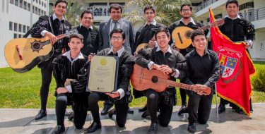 TUNA Novata USAT recibe reconocimiento de la Municipalidad Provincial de Cajamarca