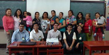 Educación USAT continúa labor social en comunidades vecinas