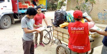 USAT fortalece capacidades de integrantes de asociación de recicladores