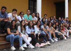 Estudiantes de Comunicación USAT visitan museos y zonas arqueológicas en la Libertad