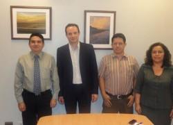 Visita del representante del ITC- Internacional Trade Center