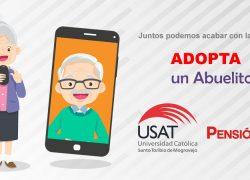 Voluntarios de campaña Adopta un Abuelito son reconocidos por el MIDIS y Pensión 65